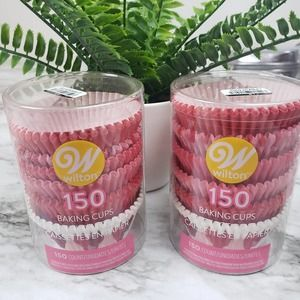 x2 Wilton 150 Count Baking Cups